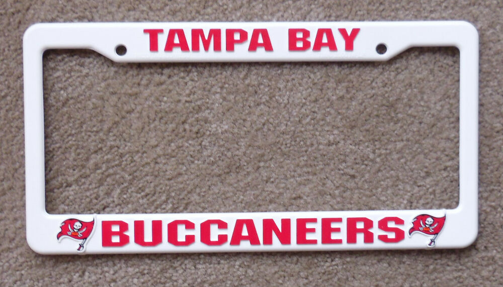 New Tampa Bay Buccaneers Nfl Football League License Plate