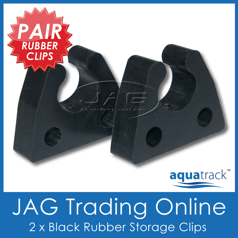 2 X Rubber Storage Clips 19mm 3 4 Quot For Boat Anchor Stern