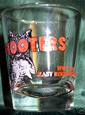 New Hooter Shotglass Shot Glass 280 East Birmingham Al Ebay