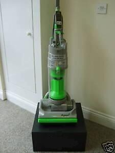 Dyson Dc04 Silver And Lime Bagless Upright Vacuum Cleaner