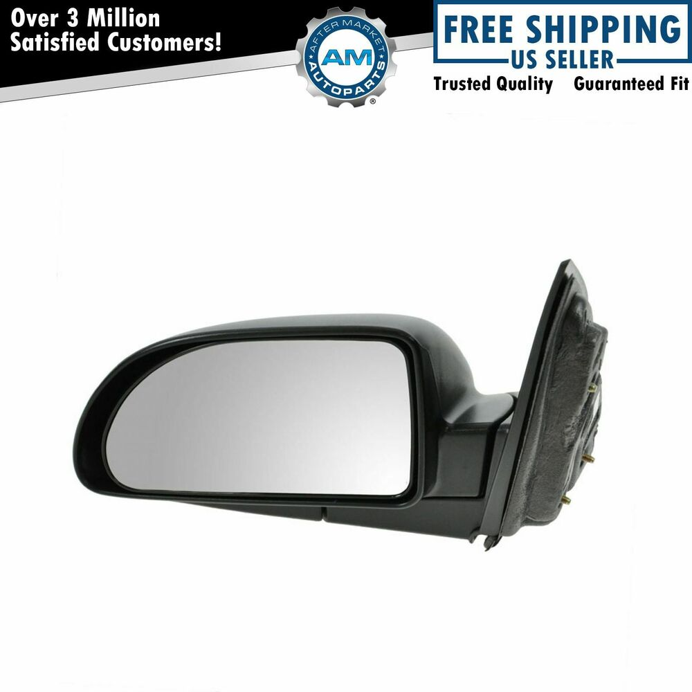 manual side view door mirror driver left lh for chevy equinox saturn vue ebay