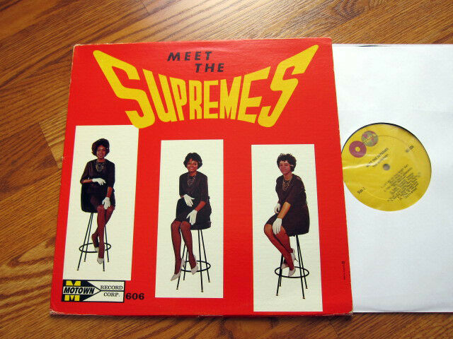 Supremes Meet The Supremes Stool Cover Original Canadian