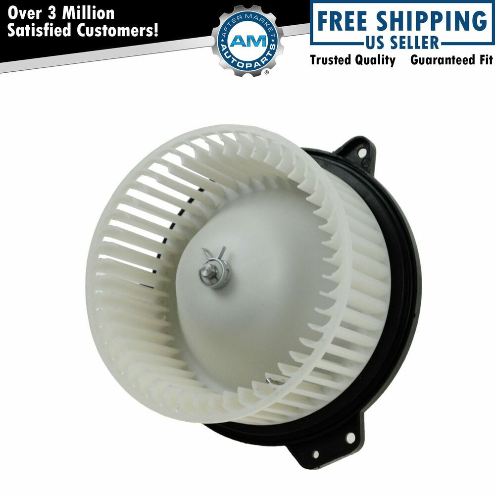 Heater Blower Fan : Heater a c ac blower motor w fan cage for mazda