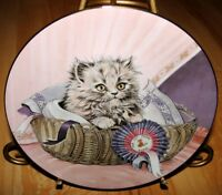 KITTEN CLASSICS First Prize Cat KITTEN Hamilton Collection Plate