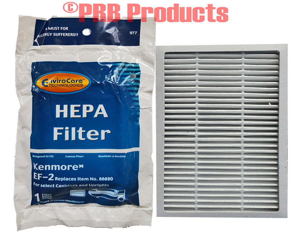 Ef 2 Hepa Anti Allergen Filter For Kenmore Model Vacuum