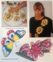 Webster Craft Beautiful Flowers Punchcraft Kit NEW