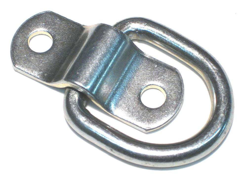 Rope ring tie down d quot enclosed trailer cargo