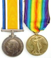 WW1 BRITISH WAR & VICTORY MEDAL PAIR TO STRETTON.R.FUS