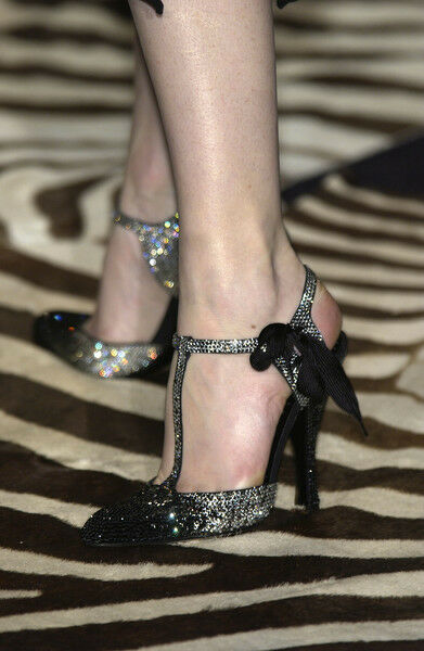 Very Rare Tom Ford For Ysl Rhinestone Spectator Shoes 36