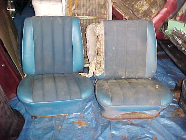 1965 Chevelle Gto Impala Corvair Bucket Seats Used Cores
