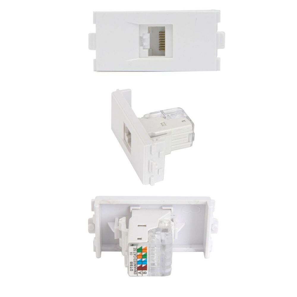 cat5e rj45 socket module  modular wall face plate outlet Electrical Socket Wiring Wall Socket Diagram