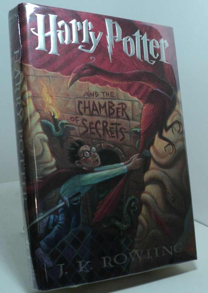 Harry Potter Book First Edition : Harry potter and the chamber of secrets by j k rowling