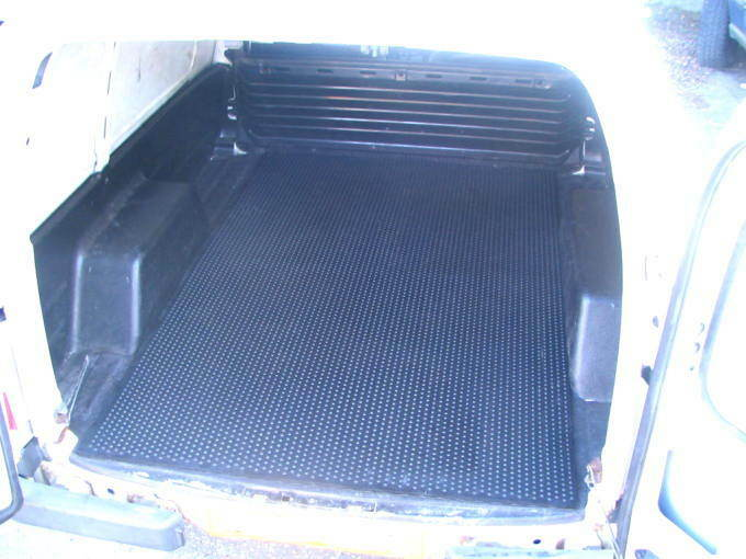 Load Mat Liner Mat Ford Escort 55 Van 11mm Thick Rubber Ebay