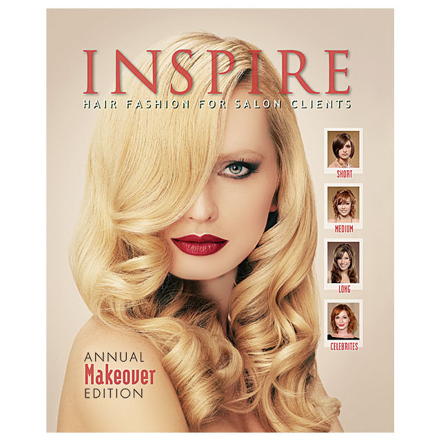 hair styling books for salons inspire hair fashion book for salon clients vol 76 annual 8770
