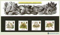 1986 Conservation Stamps in Presentation Pack PP147 (printed no.171) Royal Mail