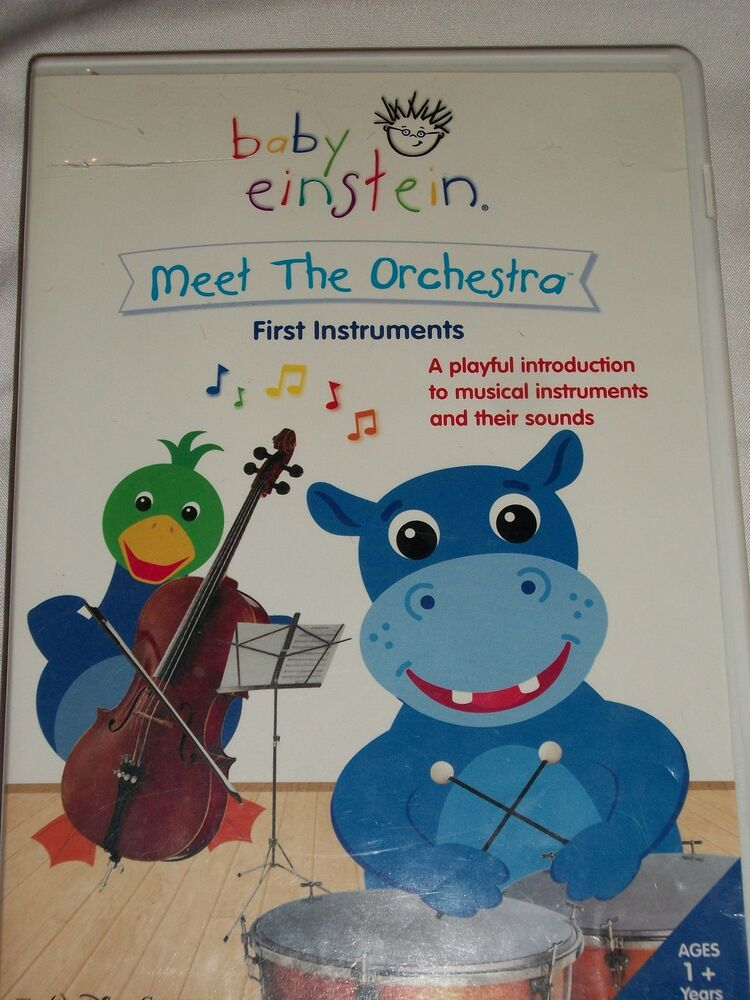 baby einstein meet the orchestra cd library
