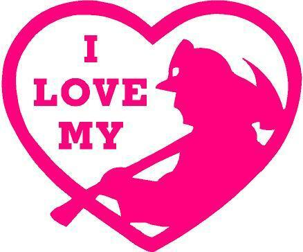 Download PINK Vinyl Decal - I love my firefighter in heart fire ...