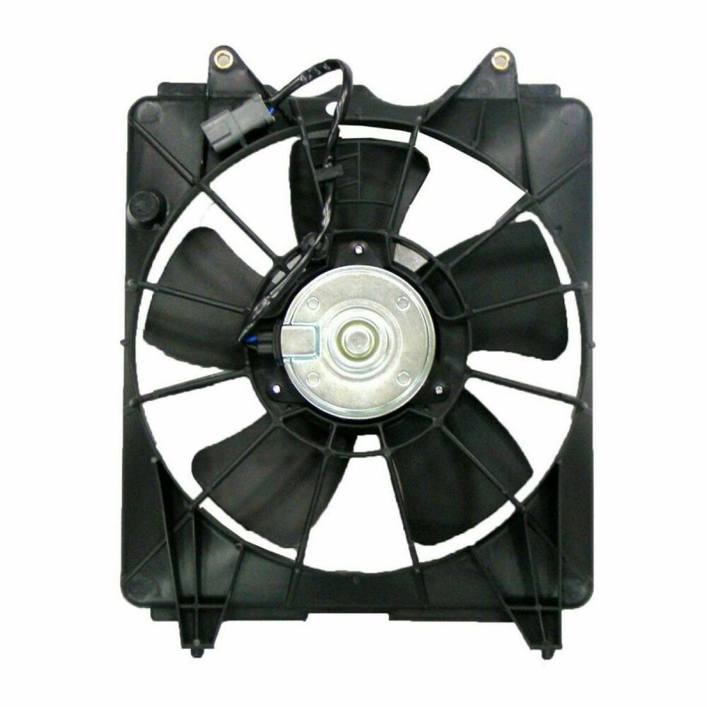 2007 Acura Rdx Cooling Fan Assembly Condenser Side: Radiator Cooling Fan Driver Side Left LH For Honda Civic