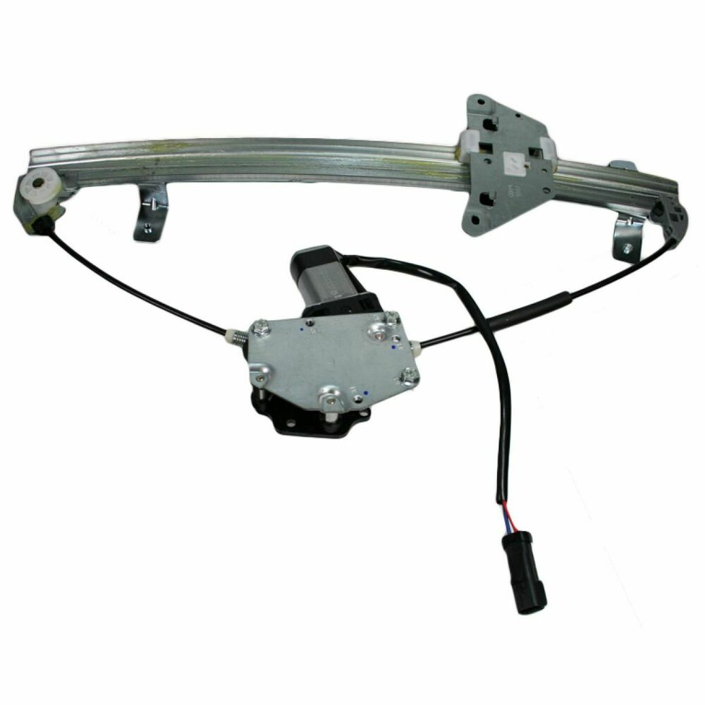 Rear power window regulator w motor driver side lh for for 02 durango window regulator