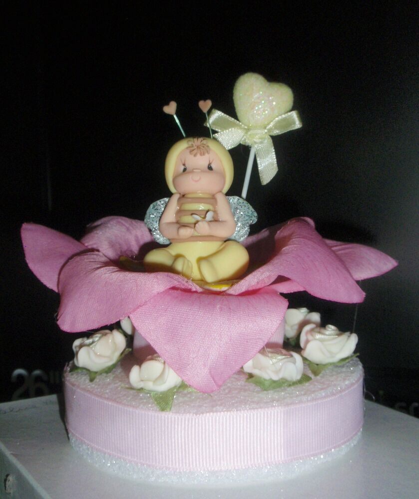 Bumble Bee Cake Topper For Baby Shower