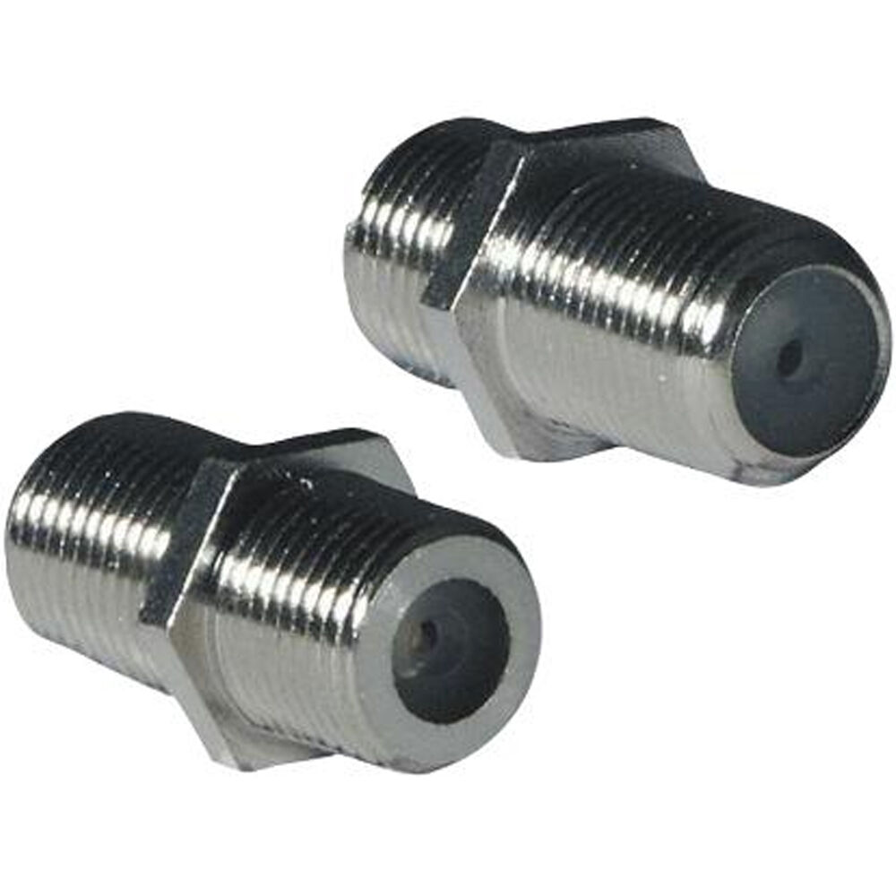 5x F Type Screw Connector Female Coupler Adapter Sat Coax