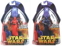 Star Wars RotS Revenge of the Sith #23 Senate Security Royal Guard Red Blue Set!