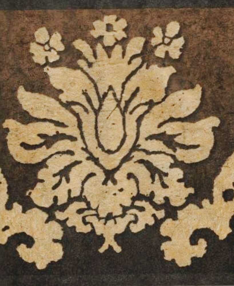 brown on brown damask wallpaper - photo #46