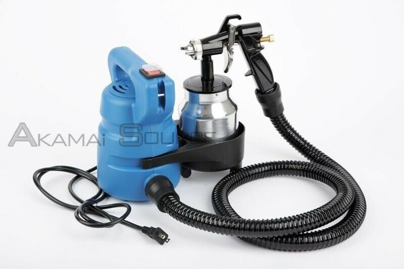 Electric Hvlp Paint Spray Gun House Home Auto Painter Sprayers Tools Ebay