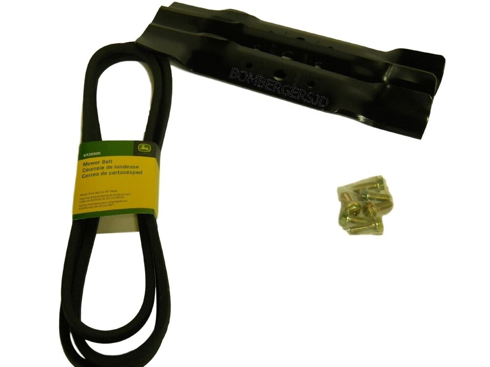 John Deere L120 Mower Deck Belt Installation : John deere quot deck maintenance kit fits l
