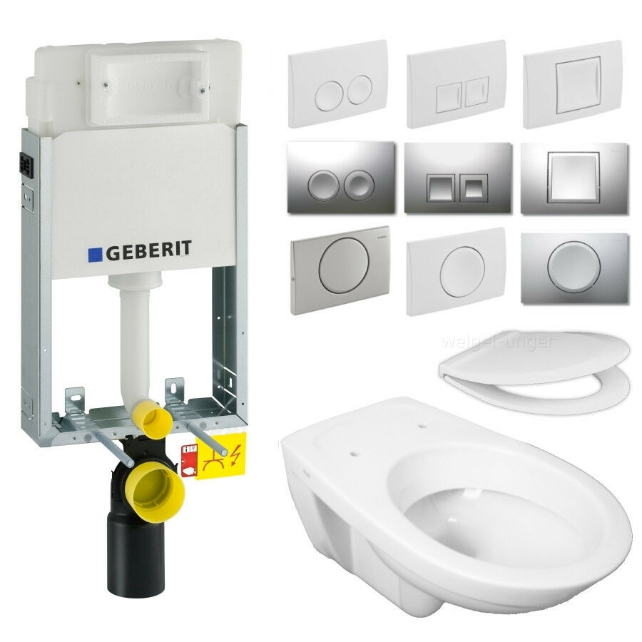 geberit kombifix sp lkasten delta nassbauelement wand wc dr ckerplatte paket gp3 ebay. Black Bedroom Furniture Sets. Home Design Ideas