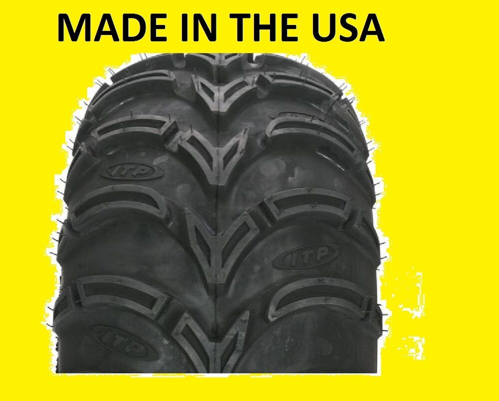 Two 2 24x9 11 American Made Itp Mud Lite Atv Tires New