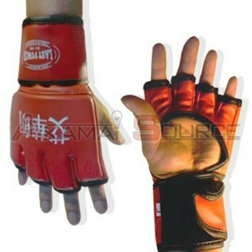 Exercise Gloves Types: MMA Boxing Gloves RED- Training Glove UFC Type Kickboxing