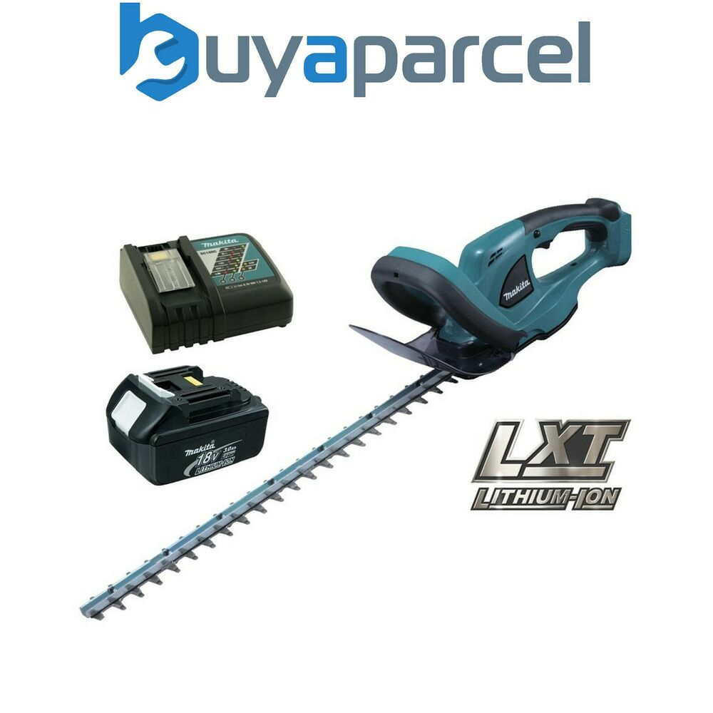 makita buh523rf lxt 18v li ion cordless hedge cutter trimmer 52cm 1 battery ebay. Black Bedroom Furniture Sets. Home Design Ideas