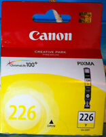 Genuine Canon 226 Yellow Ink Cartridge Ink Tank 226 Y CLI-226Y