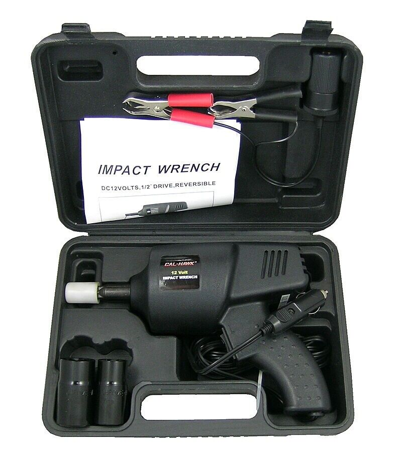 Power Tools For Cars : Volt impact auto wrench roadside emergency portable
