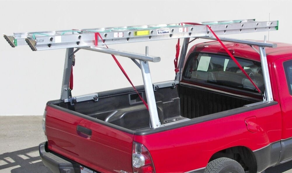 Aluminum Truck Utility Ladder Rack For Tundra Tacoma With
