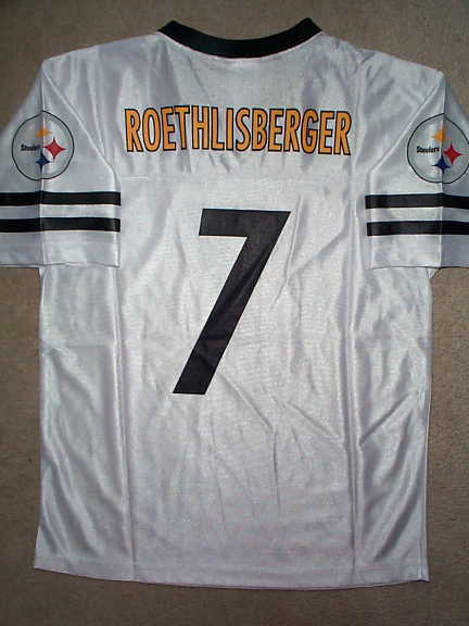 e3574b05376 Pittsburgh Steelers BEN ROETHLISBERGER nfl Jersey YOUTH KIDS BOYS (L-LARGE)