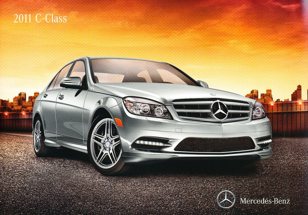 2011 mercedes benz c class c300 c350 22 page original for 2011 mercedes benz c class c300