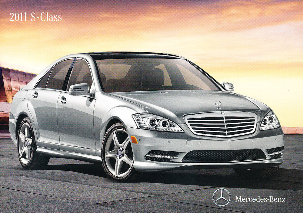 2011 mercedes benz s class s400 s550 s600 20 page sales for Mercedes benz 2011 s550