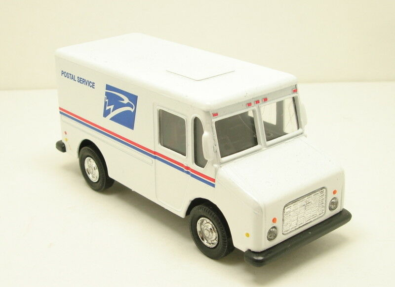 """New United States US Postal Service mail delivery 4.5"""" diecast model truck USPS 
