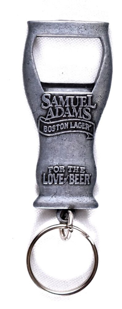 samuel adams boston lager keychain bottle beer opener. Black Bedroom Furniture Sets. Home Design Ideas