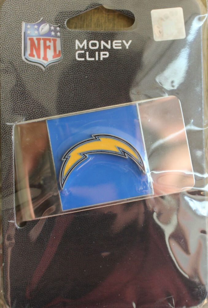 New San Diego Chargers Money Clip Nfl Licensed League