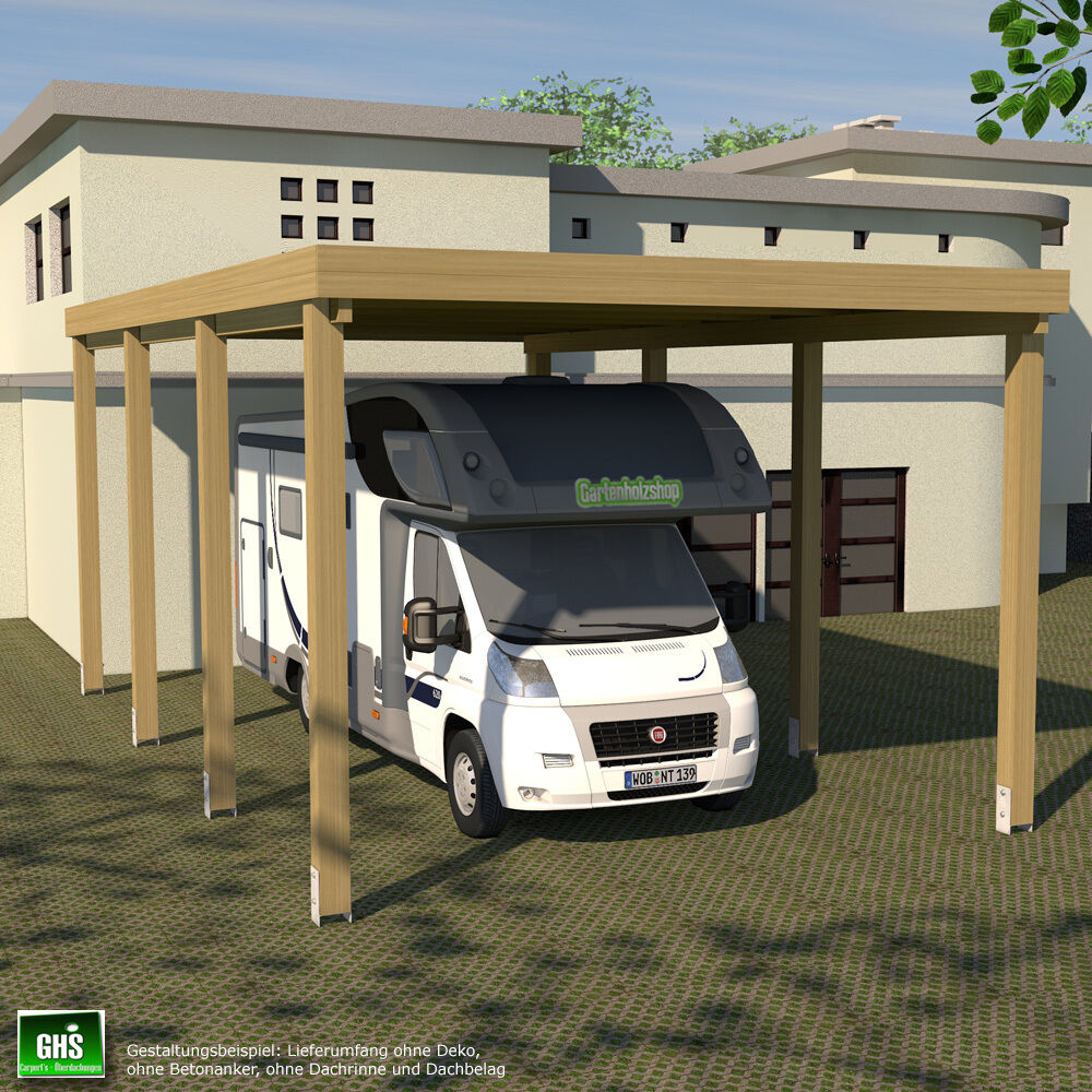 carport 4x7 f r caravan wohnwagen wohnmobil schneelast. Black Bedroom Furniture Sets. Home Design Ideas