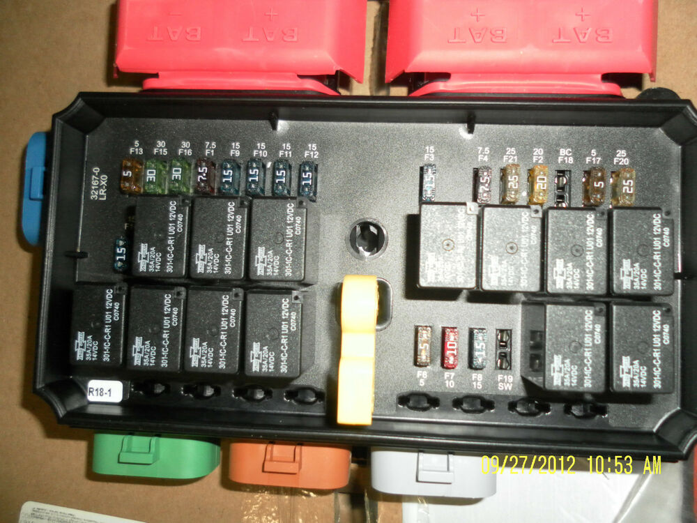 32167 0 32000 series bussmann dual electrical center