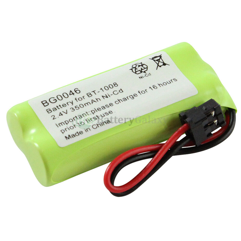 cordless home phone rechargeable battery 350mah nicd for uniden bt 1008 bt1008 ebay. Black Bedroom Furniture Sets. Home Design Ideas