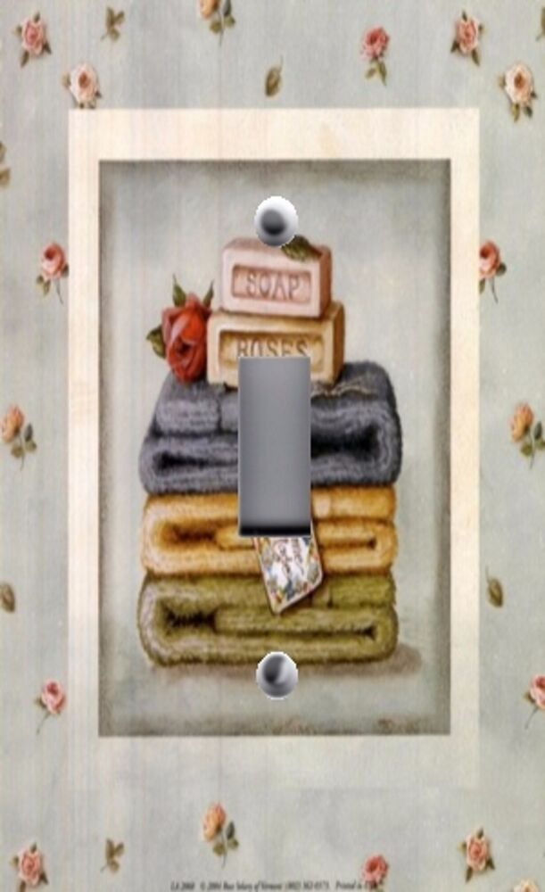 bathroom light switch covers light switch plate outlet covers bathroom decor soap 16110