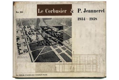 1947 max bill le corbusier pierre jeanneret oeuvre complete 1934 1938 hc dj ebay. Black Bedroom Furniture Sets. Home Design Ideas