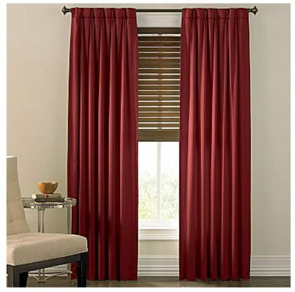 Cindy Crawford Style Prelude Pinch Pleat Drapes Color Cherry Truffle New Ebay