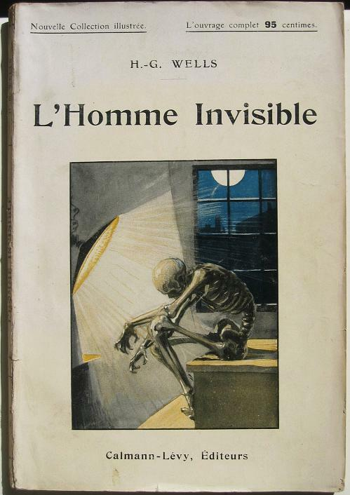 invisible man by hg wells essay Free essay: the invisible man by h g wells gives an account of a man's descent into madness as the result of his scientific feat, invisibility griffin.