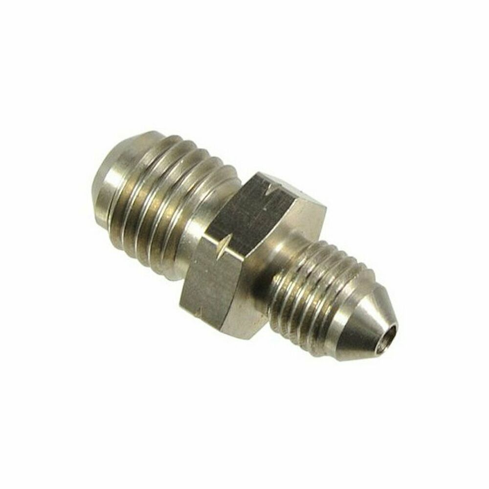An to m metric stainless steel brake car fittings